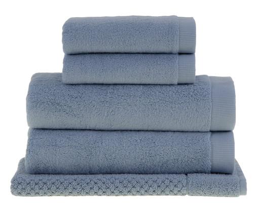 Jogo de Toalhas para Banho Buddemeyer Dual Air - Azul, Azul | WestwingNow