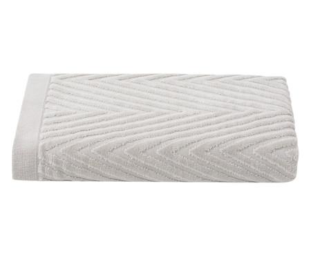 Toalha de Banho Espinha de Peixe Fog - 460 g/m² | WestwingNow