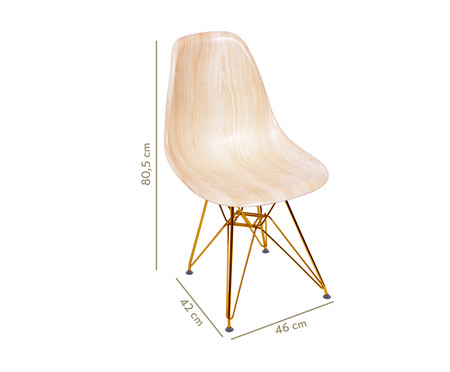 Cadeira Eames Eiffel - Areia | WestwingNow