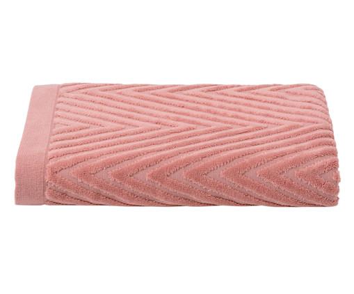 Toalha de Banho Espinha de Peixe Rosé - 460 g/m², Ros | WestwingNow