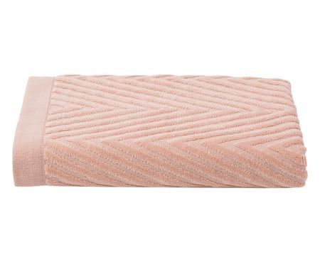 Toalha de Banho Espinha de Peixe Powder - 460 g/m² | WestwingNow