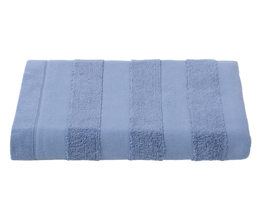 Toalha de Banho Listras Azul - 460 g/m², Azul | WestwingNow