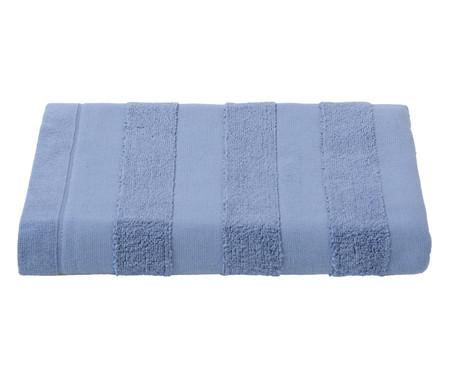 Toalha de Banho Listras Azul - 460 g/m² | WestwingNow