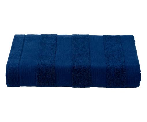 Toalha de Banho Listras Marinho - 460 g/m², Azul Marinho | WestwingNow
