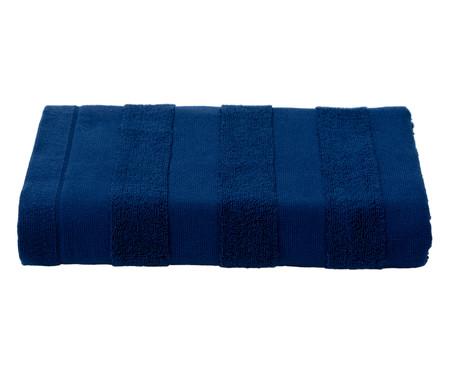 Toalha de Banho Listras Marinho - 460 g/m² | WestwingNow