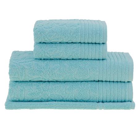Jogo de Toalhas Buddemeyer Abbey Banho - Azul | WestwingNow