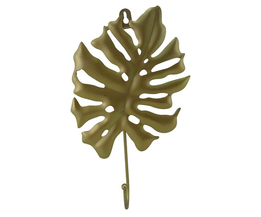 Cabideiro de Cerâmica Costela de Adão - Dourado, Dourado   WestwingNow