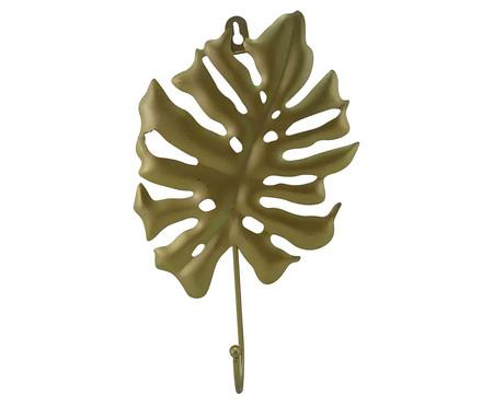 Cabideiro de Cerâmica Costela de Adão - Dourado | WestwingNow