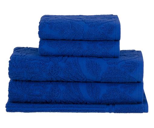 Jogo de Toalhas Portman - Azul, Azul | WestwingNow