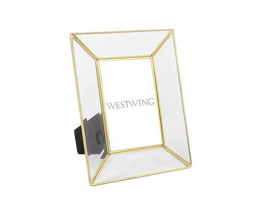 Porta-Retrato Gale - Dourado, Dourado | WestwingNow