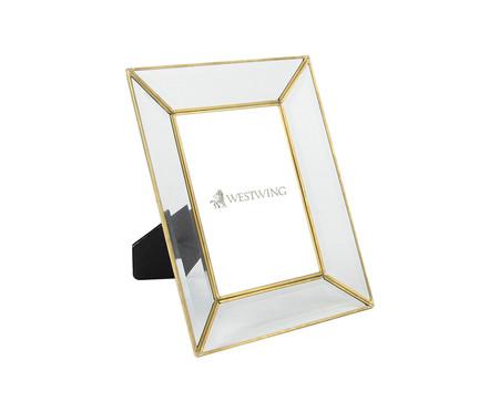 Porta-Retrato Gale - Dourado e Transparente | WestwingNow