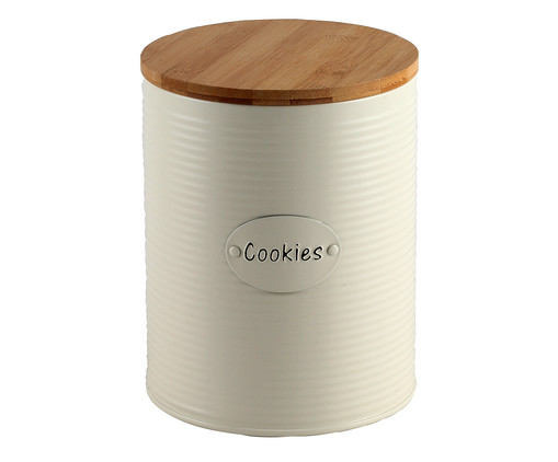 Pote Cookies - Branco e Marrom, Branco | WestwingNow