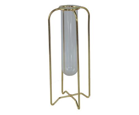 Vaso Odelia - Dourado e Transparente | WestwingNow