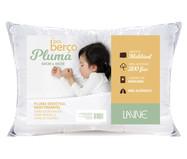 Travesseiro Baby Pluma Sintética Brown | WestwingNow