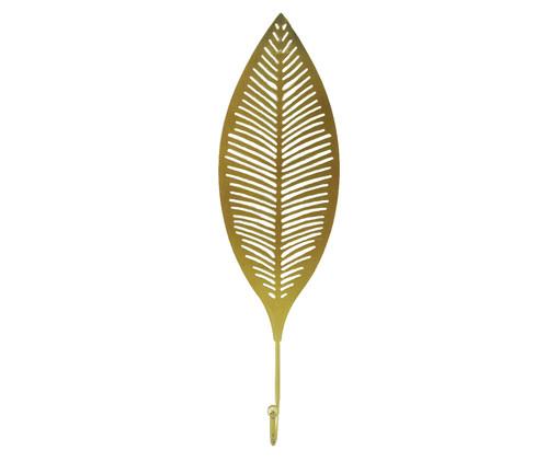 Cabideiro Folha Cid - Dourado, Dourado | WestwingNow