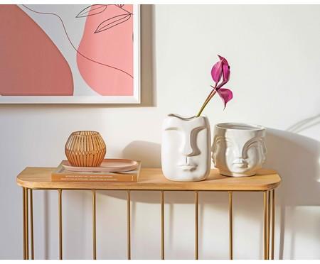 Cachepot Cerâmica Lela - Branco | WestwingNow