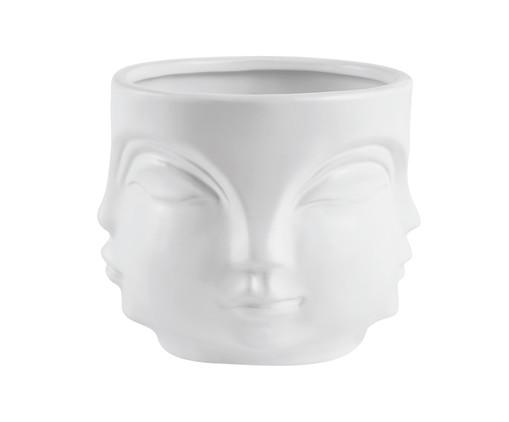 Cachepot Cerâmica Lela - Branco, Branco | WestwingNow