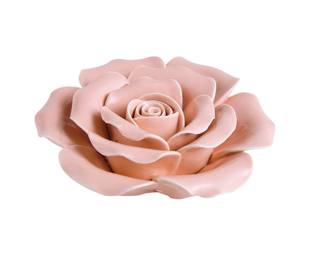 Adorno Lê em Cerâmica - Rosa | WestwingNow