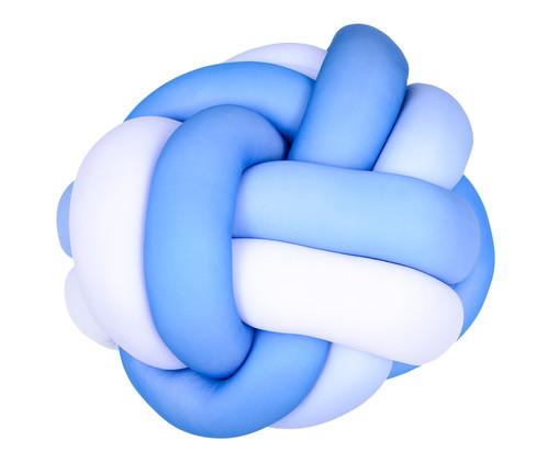 Almofada Flor Celta Ombre - Azul e Branco, Colorido | WestwingNow