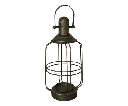 Lanterna Laila - Dourado Envelhecido | WestwingNow