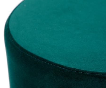 Pufe em Veludo Harlow - Verde Esmeralda   WestwingNow