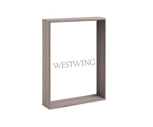 Porta-Retrato Ruthie - Cinza, Colorido | WestwingNow