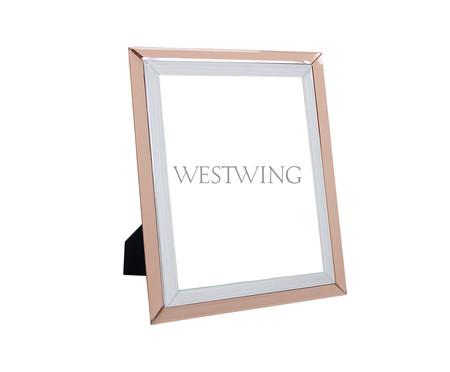 Porta-Retrato de Vidro Estela - Rosa | WestwingNow