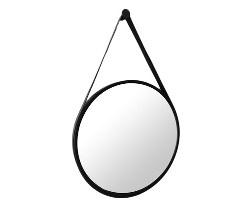 Espelho com Alça Adnet Elba - Preto, Preto | WestwingNow