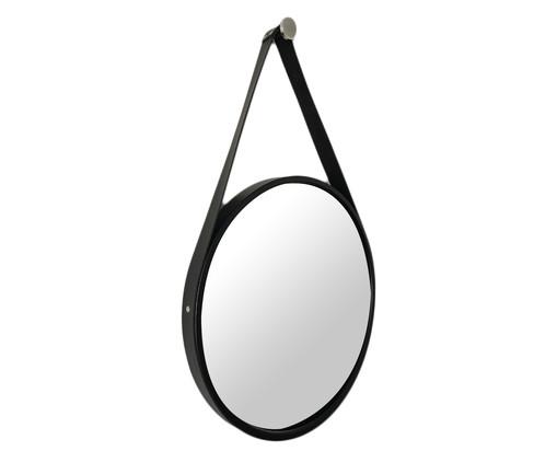 Espelho de Parede com Alça Adnet Elba - Preto, Preto | WestwingNow