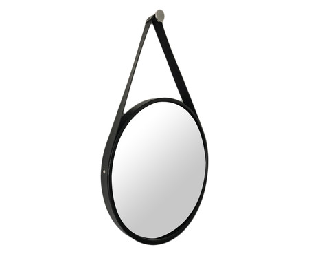 Espelho de Parede com Alça Adnet Elba - Preto | WestwingNow