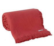 Colcha com Franja In Design - Vermelha   WestwingNow