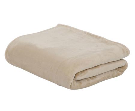 Cobertor Toque de Seda Malha de Urdume 300g  Sweet Dreams - Bege | WestwingNow