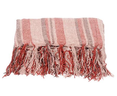 Manta Boras Stripes - Vermelha | WestwingNow