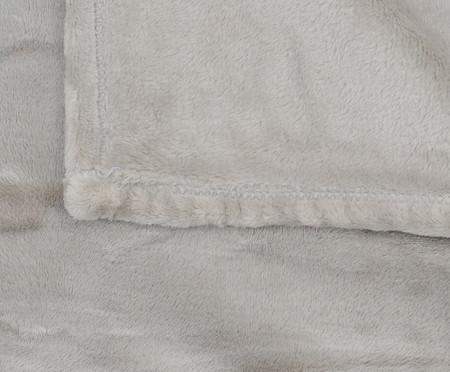 Cobertor Toque de Seda Sweet Dreams Prateado - 300G/M² | WestwingNow