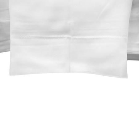 Jogo de Lençol de Algodão 300 Fios Hotel - Branco | WestwingNow