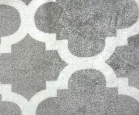 Cobertor Toque de Seda Liz - Cinza | WestwingNow