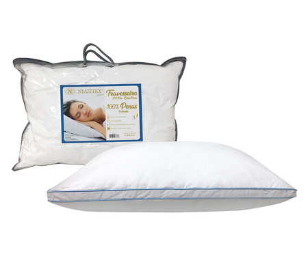 Travesseiro Featherlite Extra Firma Branco - 250 Fios | WestwingNow