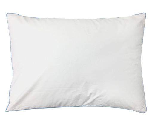 Travesseiro de Algodão 250 Fios Featherlite Extra Firma - Branco, Branco | WestwingNow