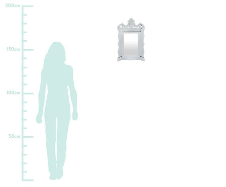 Espelho de Parede Veneziano - Branco | WestwingNow