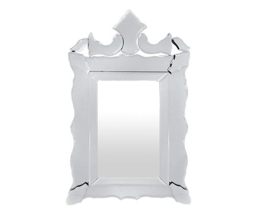 Espelho de Parede Veneziano - Branco, Branco | WestwingNow