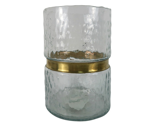 Vaso de Vidro Desi - Transparente, Transparente | WestwingNow