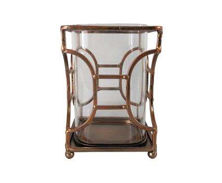Vaso de Vidro Scai - Marrom | WestwingNow