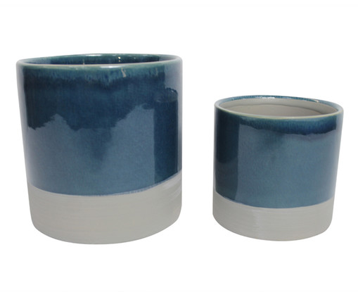 Jogo de Vasos Donna - Azul, Azul | WestwingNow