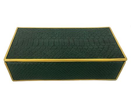 Caixa Decorativa de Resina Lana - Verde | WestwingNow