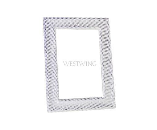 Porta-Retrato de Metal Dani - Prateado, Prata / Metálico | WestwingNow