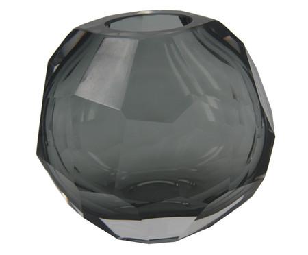 Vaso de Vidro Clarisse II - Cinza | WestwingNow