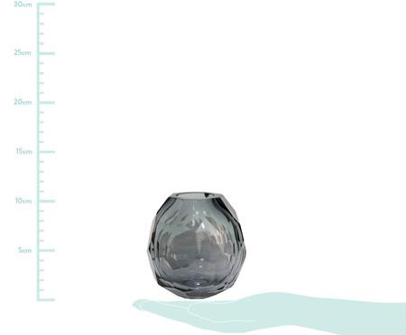 Vaso de Vidro Clarisse I - Cinza | WestwingNow