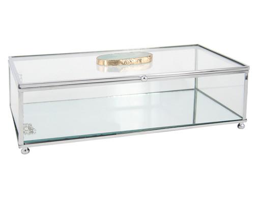 Porta-Jóias de Vidro Winnie - Transparente, Transparente | WestwingNow