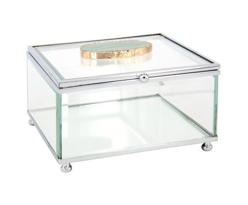 Porta-Joias de Vidro Ágata - Transparente, Transparente | WestwingNow