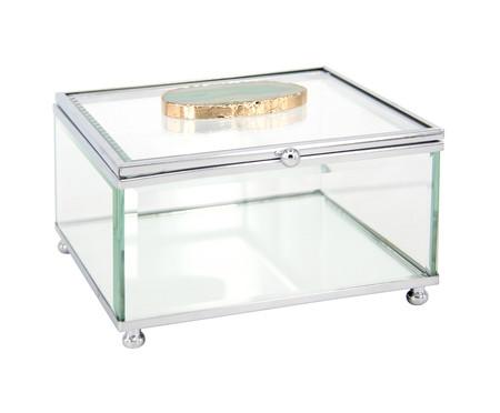 Porta-Joias de Vidro Ágata - Transparente | WestwingNow